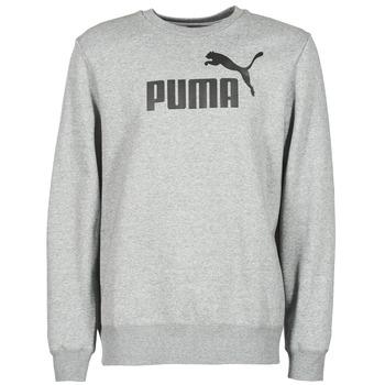 vaatteet Miehet Svetari Puma ESS CREW SWEAT FL Grey