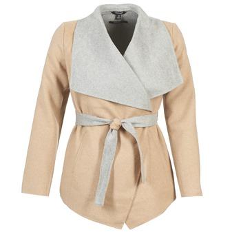 vaatteet Naiset Paksu takki Tom Tailor JAZOUVE Beige / Grey