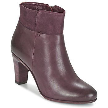 kengät Naiset Nilkkurit Fred de la Bretoniere NAVAJO Bordeaux