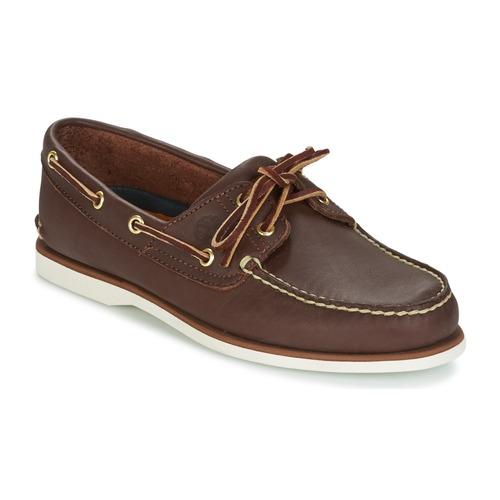 kengät Miehet Purjehduskengät Timberland CLASSIC 2 EYE Brown