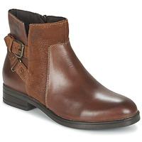 kengät Naiset Bootsit Casual Attitude FERDAWA CAMEL