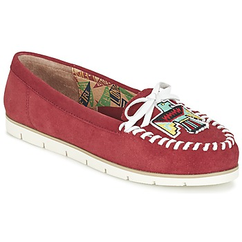 kengät Naiset Mokkasiinit Miss L'Fire YHUNDERBIRD Red