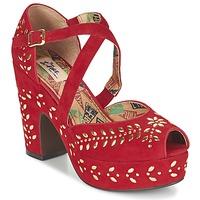 kengät Naiset Sandaalit ja avokkaat Miss L'Fire SELINA Red