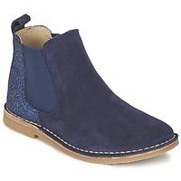 kengät Tytöt Bootsit Citrouille et Compagnie FIGOULI Sininen