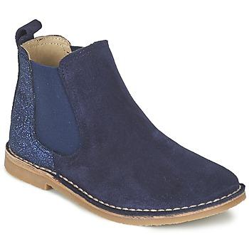 kengät Tytöt Bootsit Citrouille et Compagnie FIGOULI Blue