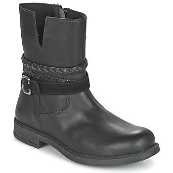 kengät Tytöt Bootsit Citrouille et Compagnie FURAMO Black