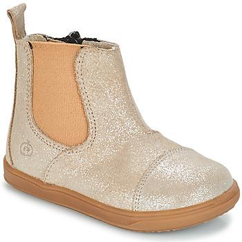 kengät Tytöt Bootsit Citrouille et Compagnie FEPOL Silver