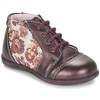 kengät Tytöt Bootsit Citrouille et Compagnie FRICOL Violetti