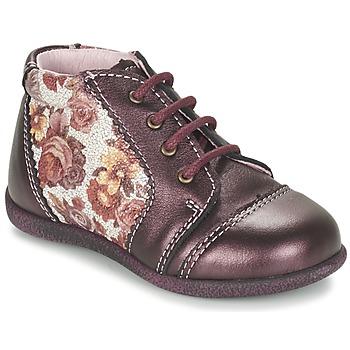 kengät Tytöt Bootsit Citrouille et Compagnie FRICOL Violet