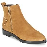 kengät Naiset Bootsit Kenzo TOTEM FLAT BOOTS Kamelinruskea