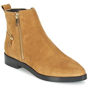 kengät Naiset Bootsit Kenzo TOTEM FLAT BOOTS Camel