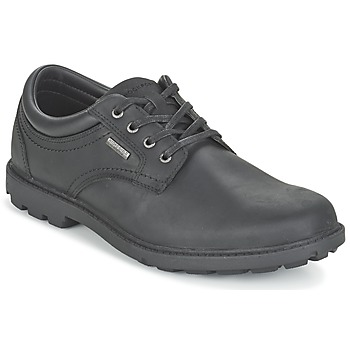 kengät Miehet Derby-kengät Rockport RGD BUC WP PLAINTOE Black
