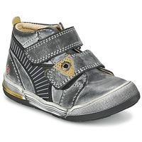 kengät Pojat Bootsit GBB NATHAN Grey / Yellow
