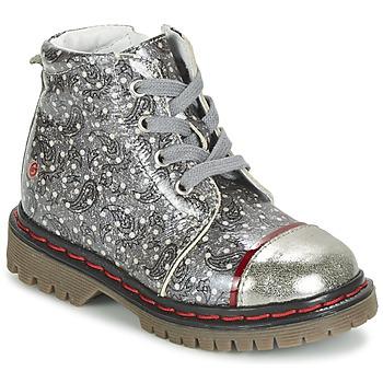 kengät Tytöt Bootsit GBB NEVA Grey / Kuvioitu