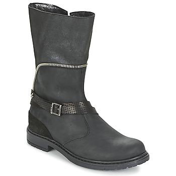 kengät Tytöt Saappaat Ikks FLORA Musta