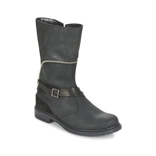kengät Tytöt Saappaat Ikks FLORA Black