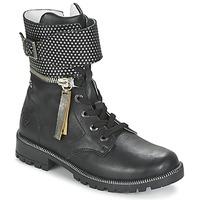 kengät Tytöt Bootsit Ikks PEGGY Black