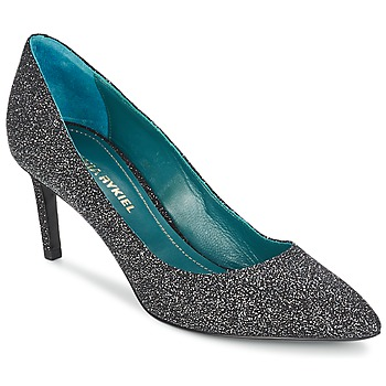kengät Naiset Korkokengät Sonia Rykiel 677620 Black / Glitter