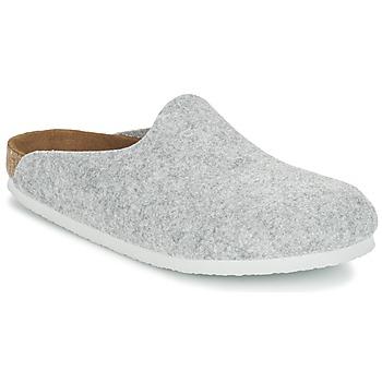 kengät Naiset Puukengät Birkenstock AMSTERDAM Grey / Clair