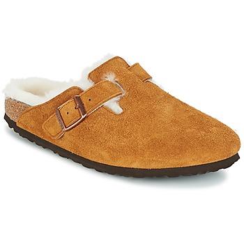 kengät Naiset Puukengät Birkenstock BOSTON Brown