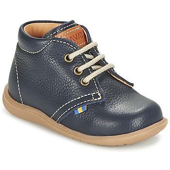 kengät Pojat Bootsit Kavat HAMMAR LACE Sininen