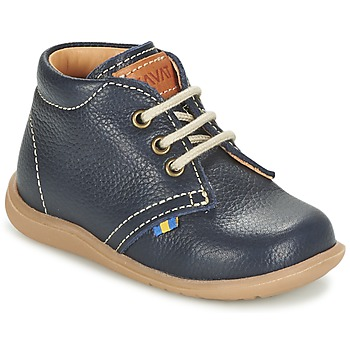 kengät Pojat Bootsit Kavat HAMMAR LACE Blue