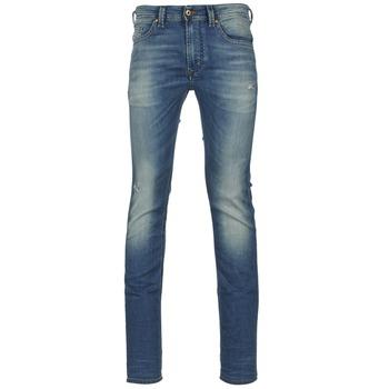 vaatteet Miehet Slim-farkut Diesel THAVAR NE Blue