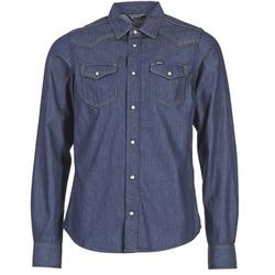 vaatteet Miehet Pitkähihainen paitapusero Diesel NEW SONORA Blue