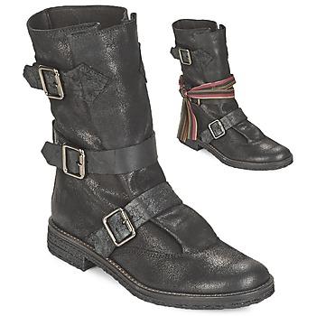 kengät Naiset Bootsit Felmini CREPONA Black