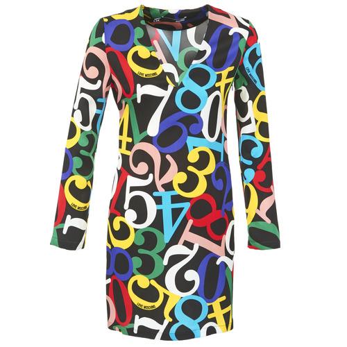 vaatteet Naiset Lyhyt mekko Love Moschino PICHANI Multicolour
