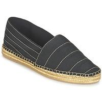 kengät Naiset Espadrillot Marc Jacobs SIENNA Black / Gold
