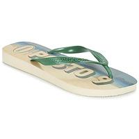 kengät Miehet Varvassandaalit Havaianas POSTO CODE Green / Blue