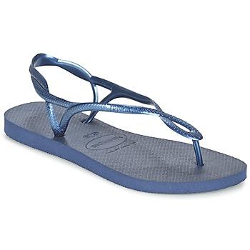 kengät Naiset Sandaalit ja avokkaat Havaianas LUNA Sininen / Laivastonsininen