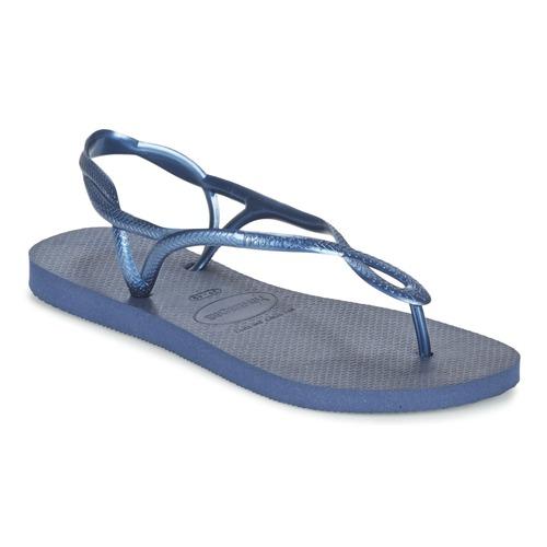 kengät Naiset Varvassandaalit Havaianas LUNA Blue / Laivastonsininen
