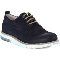 kengät Miehet Derby-kengät Pawelk's PAWELKS CAMOSCIO EXEL Blu