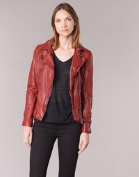 vaatteet Naiset Nahkatakit / Tekonahkatakit Oakwood 62065 Red