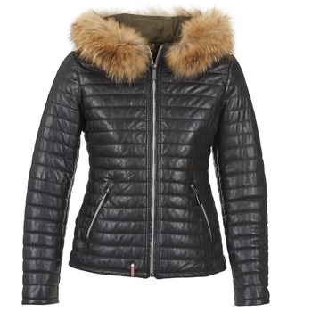 vaatteet Naiset Toppatakki Oakwood 61677 Black