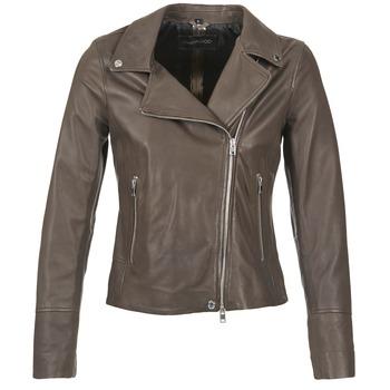 vaatteet Naiset Nahkatakit / Tekonahkatakit Oakwood 62049 Grey / Clair