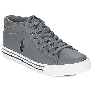 kengät Pojat Korkeavartiset tennarit Ralph Lauren HARRISON MID Grey