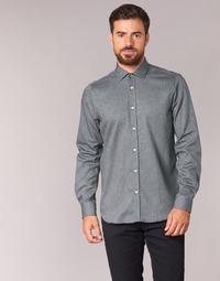 vaatteet Miehet Pitkähihainen paitapusero Casual Attitude FOLI Grey