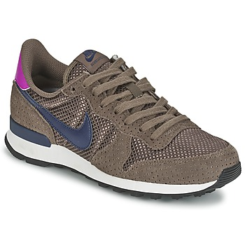 kengät Naiset Matalavartiset tennarit Nike INTERNATIONALIST PREMIUM W Brown