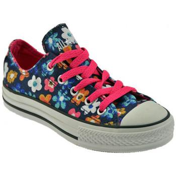 kengät Lapset Matalavartiset tennarit Converse  Sininen