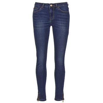 vaatteet Naiset Slim-farkut Yurban FOLDINE Blue