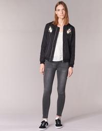vaatteet Naiset Slim-farkut Yurban FABANE Grey