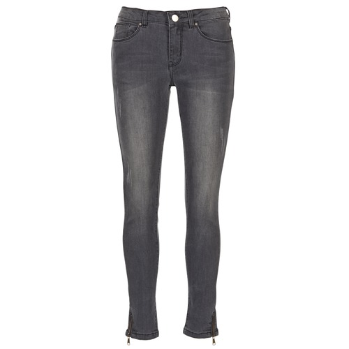 vaatteet Naiset Slim-farkut Moony Mood IFABANE Grey