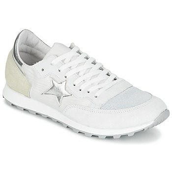 kengät Naiset Matalavartiset tennarit Yurban FILLIO Valkoinen / Beige