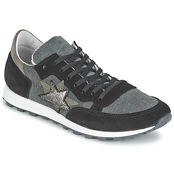 kengät Naiset Matalavartiset tennarit Yurban FILLIO Grey / Black