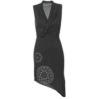 vaatteet Naiset Lyhyt mekko Desigual RAZIANA Black