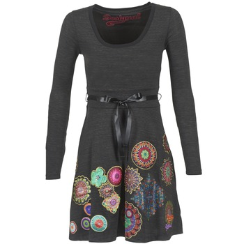vaatteet Naiset Lyhyt mekko Desigual RIDOUBA Grey