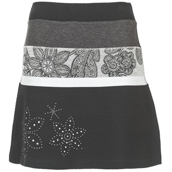 vaatteet Naiset Hame Desigual REVUNE Black / Grey